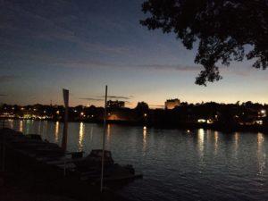 Schweinfurt am Abend