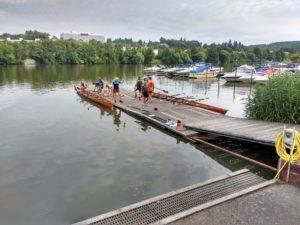 """Ablegen vom Schweinfurter Ruder-Club """"Franken"""""""